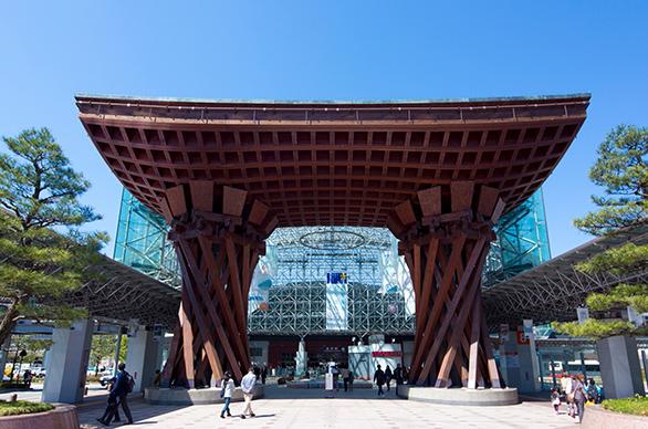 「KANAZAWA STATION」の画像です。