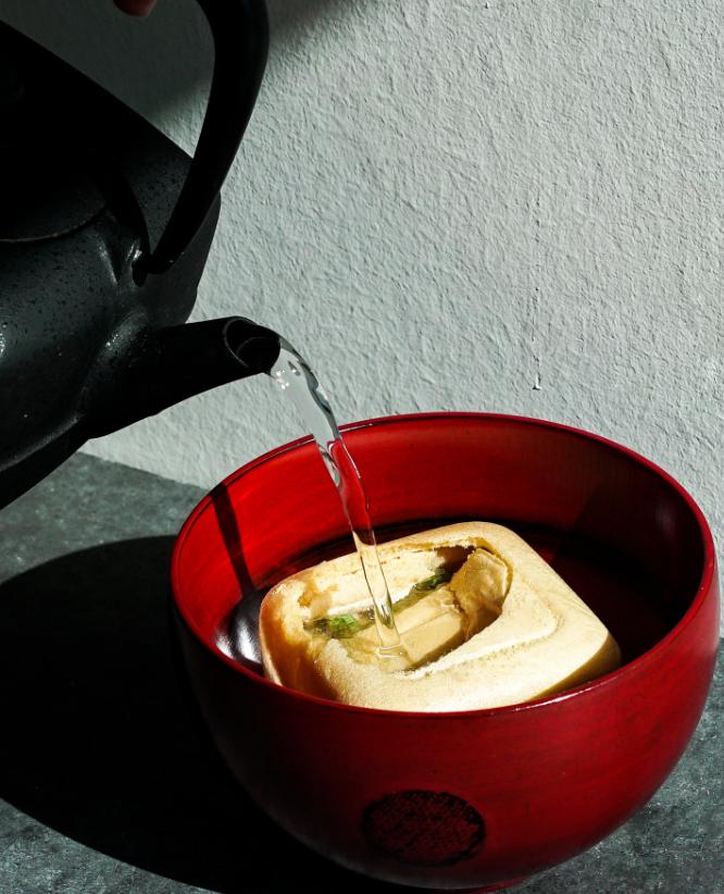 利き茶スタンド(SELF TEA CEREMONY)のイメージ画像です。