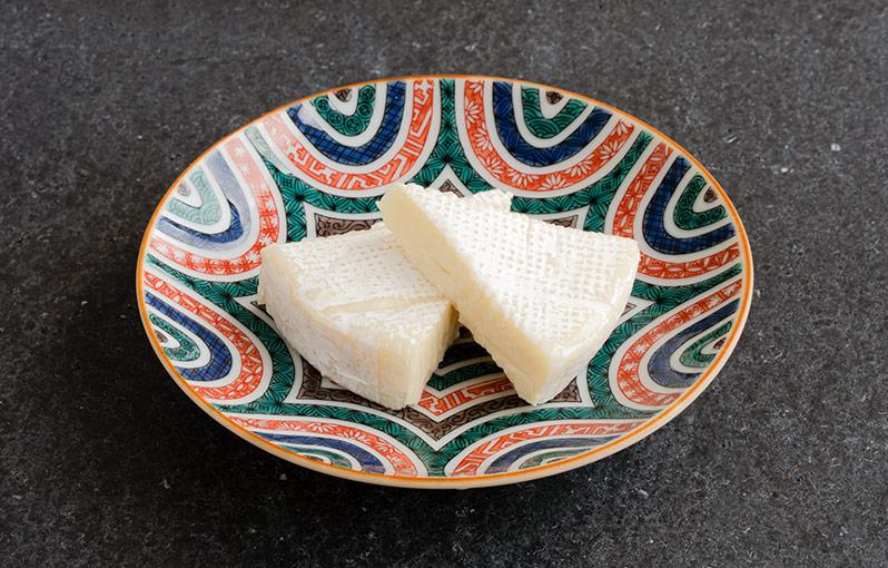 カマンベールチーズの具材写真です。