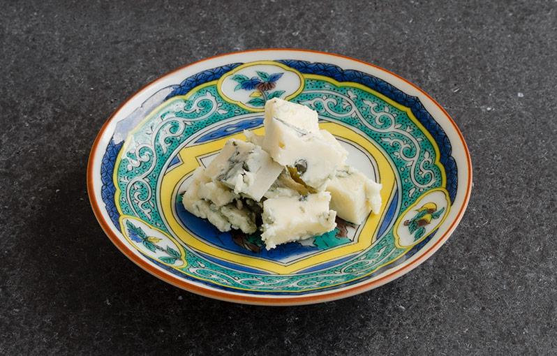 ゴルゴンゾーラチーズの具材写真です。